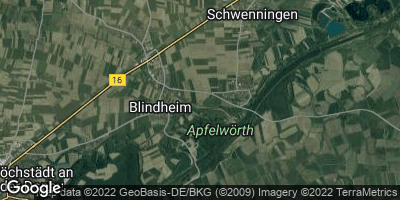 Google Map of Blindheim