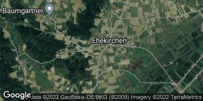 Google Map of Ehekirchen