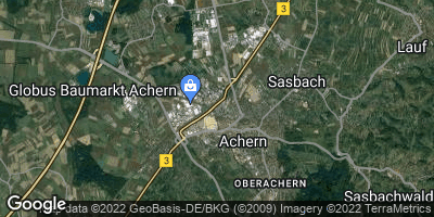 Google Map of Achern