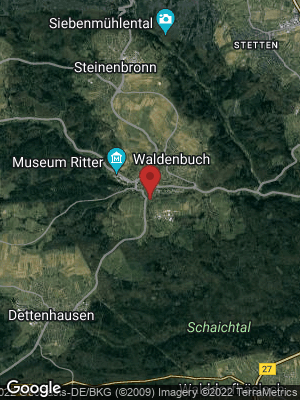 Google Map of Waldenbuch