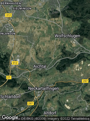 Google Map of Aichtal