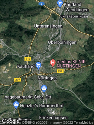 Google Map of Nürtingen