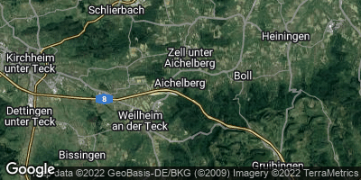 Google Map of Aichelberg