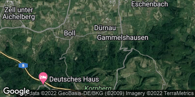 Google Map of Dürnau