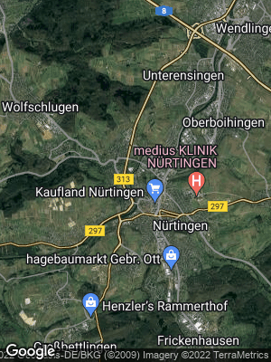 Google Map of Oberensingen
