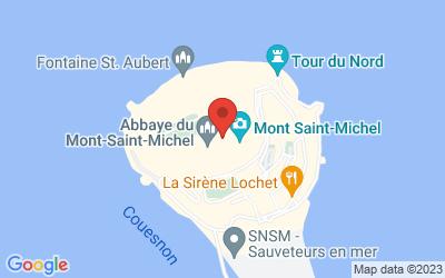 50170 Le Mont-Saint-Michel, France