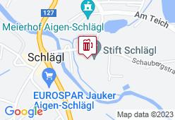 Stiftskeller Schlägl - Karte