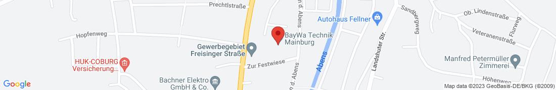 BayWa Technik Mainburg Anfahrt