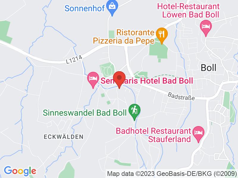 Map of Evangelische Akademie