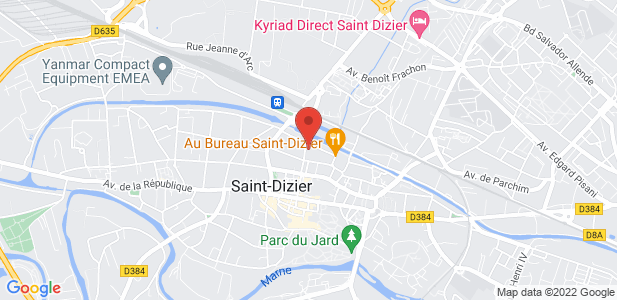 Centre d'affaires Rives de Marne 900 m² à Saint-Dizier - Haute-Marne (52)