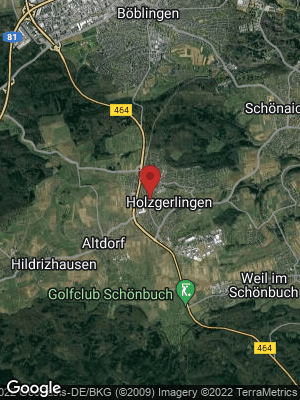 Google Map of Holzgerlingen