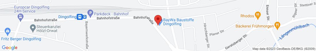 BayWa Baustoffe Dingolfing Anfahrt