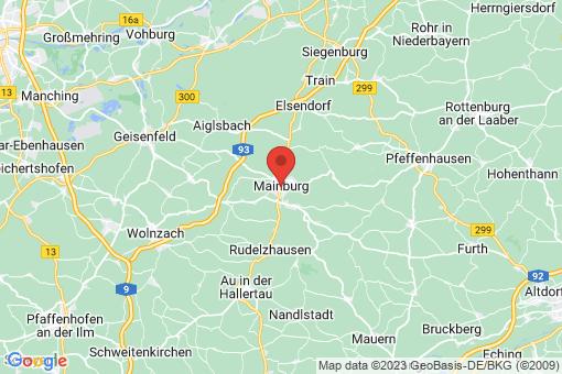 Karte Mainburg