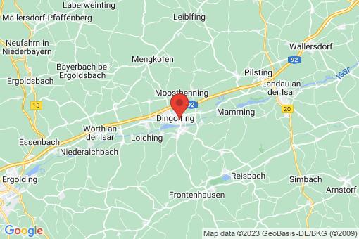 Karte Dingolfing
