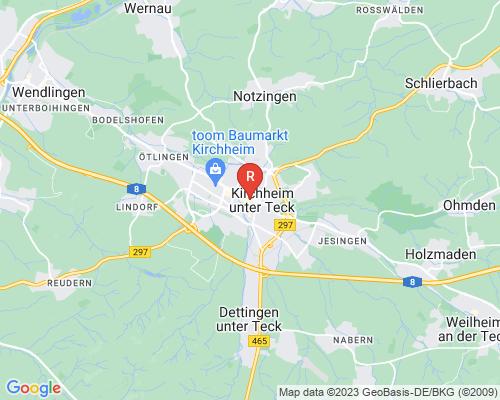 Google Karte von Rohrreinigung Kirchheim