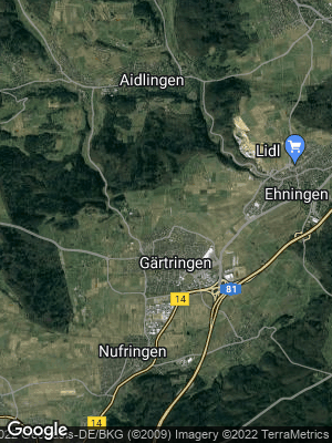 Google Map of Gärtringen