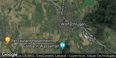 Google Map of Wolfschlugen