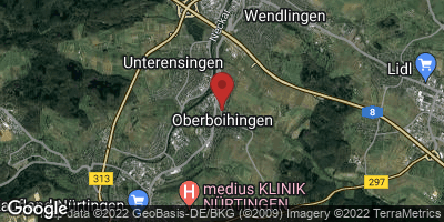Google Map of Oberboihingen