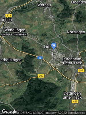 Google Map of Ötlingen / Teck