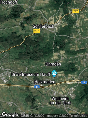 Google Map of Ohmden