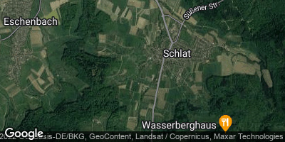 Google Map of Schlat