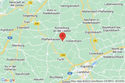 Karte Hohenthann