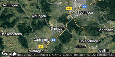 Google Map of Ehningen