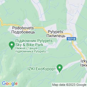Карта города Пилипца