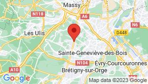 Carte de localisation du centre de contrôle technique LA VILLE DU BOIS