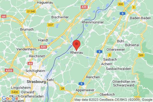 Karte Rheinau