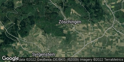 Google Map of Zöschingen
