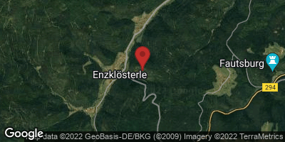 Google Map of Enzklösterle