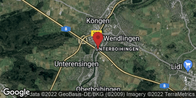 Google Map of Unterensingen