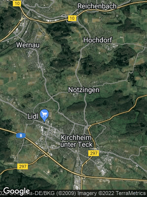 Google Map of Notzingen