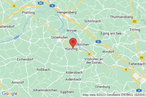 Karte Künzing