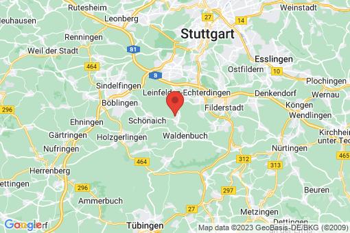 Karte Steinenbronn
