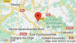 Carte de localisation du centre de contrôle technique GRIGNY