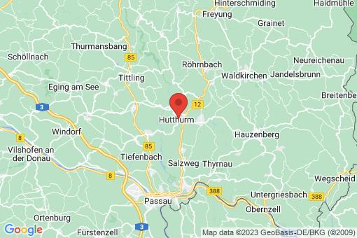 Karte Hutthurm