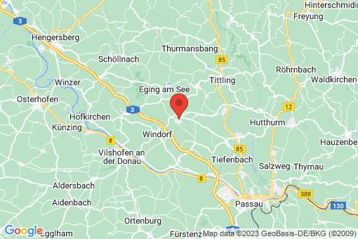 Karte Aicha vorm Wald