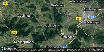 Google Map of Aidlingen