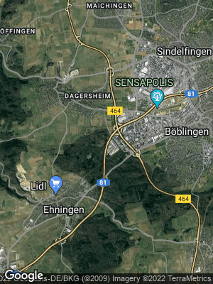 Google Map of Maichingen