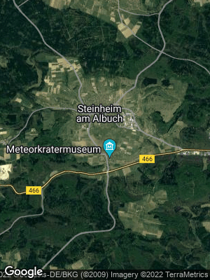 Google Map of Steinheim am Albuch