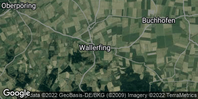 Google Map of Wallerfing
