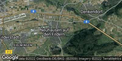 Google Map of Neuhausen auf den Fildern
