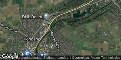 Google Map of Wendlingen am Neckar