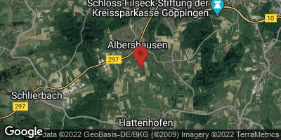 Google Map of Albershausen