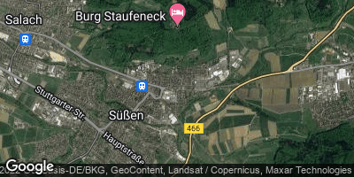 Google Map of Süßen