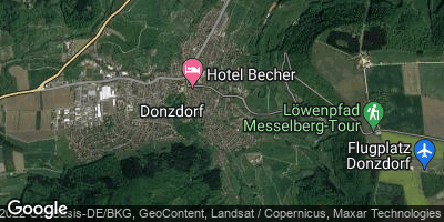 Google Map of Donzdorf