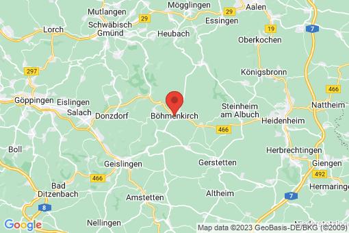 Karte Böhmenkirch