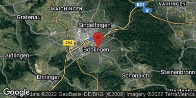 Google Map of Böblingen
